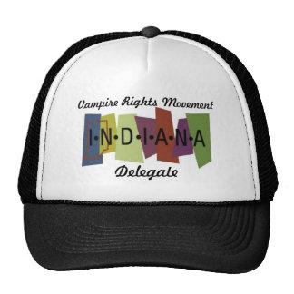 Le vampire redresse le mouvement - Indiana Casquette