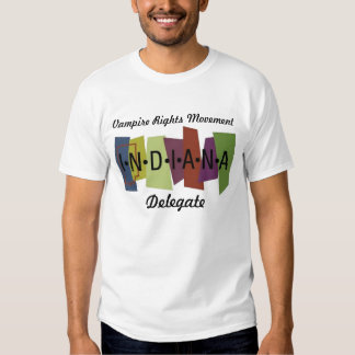 Le vampire redresse le mouvement - Indiana Tee-shirt