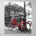 Le vélo rouge 1 affiches