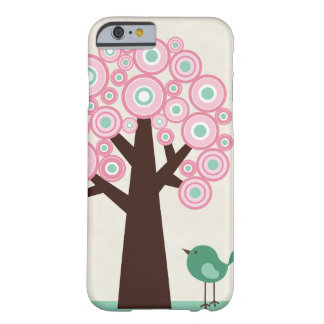 Le vert rose à la mode entoure le cas de l'iPhone  Coque Barely There iPhone 6