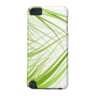 Le vert sarcle la caisse d'iPod de décor Coque iPod Touch 5G