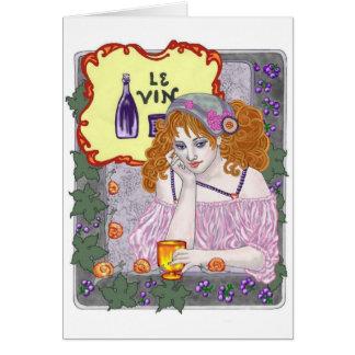 Le Vin Again Card