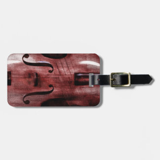 Le Violon Rouge (The Red Violin) Luggage Tag
