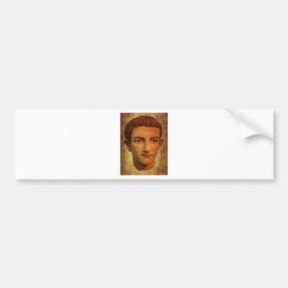Le visage de Caligula Autocollant De Voiture