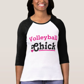 Le volley-ball Chick T-shirt