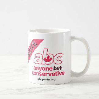 Le vote ABC attaquent Mug Blanc