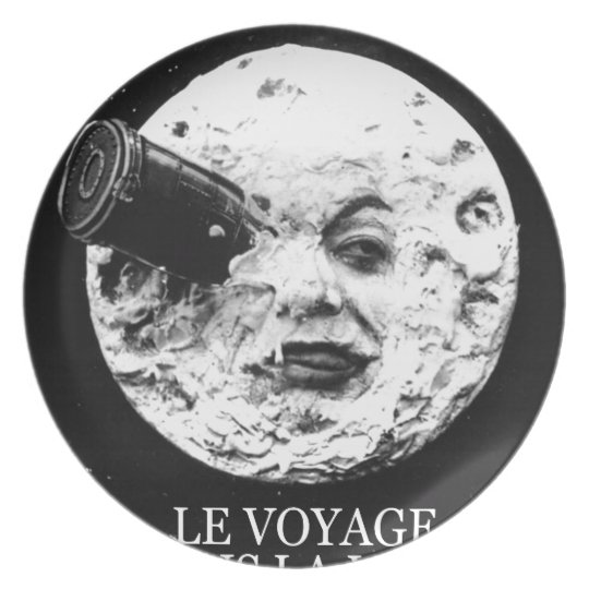 Le Voyage Dans La Lune (A Trip to the Moon) Plate