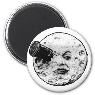 Le Voyage Dans La Lune (Face Only) 2 Inch Round Magnet