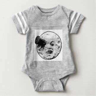Le Voyage Dans La Lune (Face Only) Baby Bodysuit
