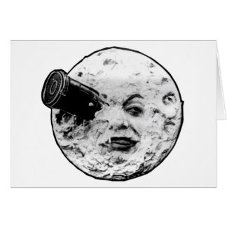 Le Voyage Dans La Lune (Face Only) Card