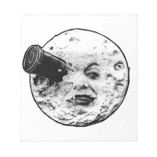 Le Voyage Dans La Lune (Face Only) Notepad