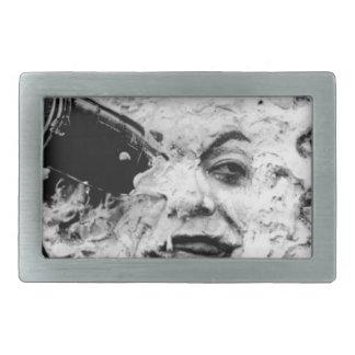 Le Voyage Dans La Lune (Face Only) Rectangular Belt Buckle