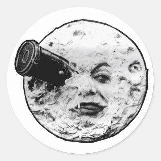 Le Voyage Dans La Lune (Face Only) Round Sticker
