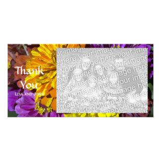Le Zinnia de jardin fleurit le carte photo de