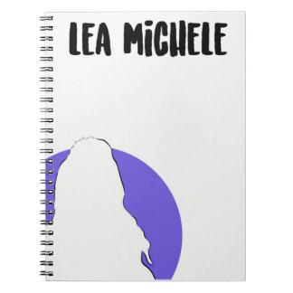 Lea Michele Simple Art Notebook