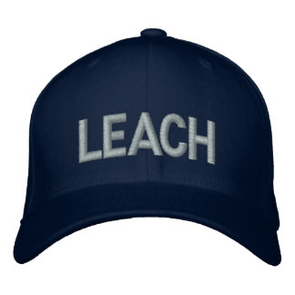 LEACH Flex Fit Embroidered Embroidered Hat