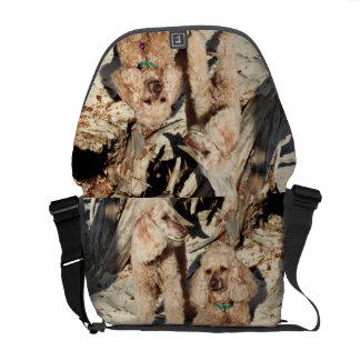 Leach - Poodles - Romeo Remy Courier Bag