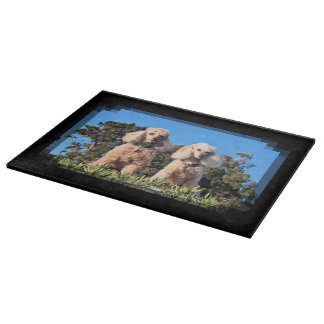 Leach - Poodles - Romeo Remy Cutting Board