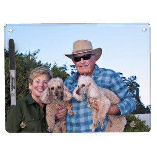 Leach - Poodles - Romeo Remy Dry Erase Board With Keychain Holder