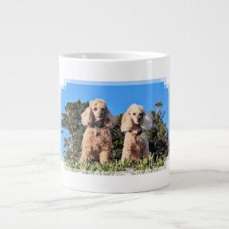 Leach - Poodles - Romeo Remy Large Coffee Mug