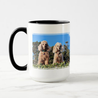 Leach - Poodles - Romeo Remy Mug