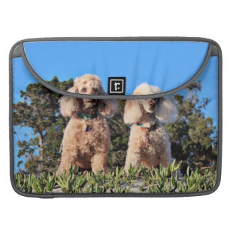 Leach - Poodles - Romeo Remy Sleeve For MacBooks