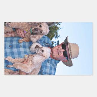 Leach - Poodles - Romeo Remy Sticker