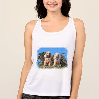 Leach - Poodles - Romeo Remy Tank Top