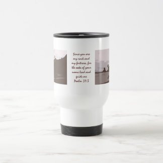 Lead and Guide Me - Psalm 31:3 15 Oz Stainless Steel Travel Mug