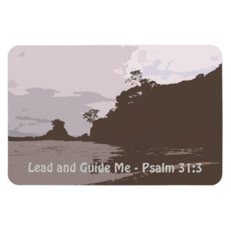 Lead and Guide Me - Psalm 31:3 Magnet