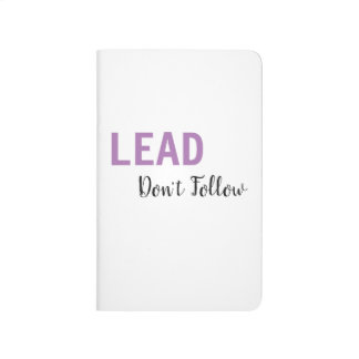 LEAD, Don't Follow Journal