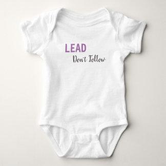 LEAD, Don't Follow Long Sleeved T-shirt