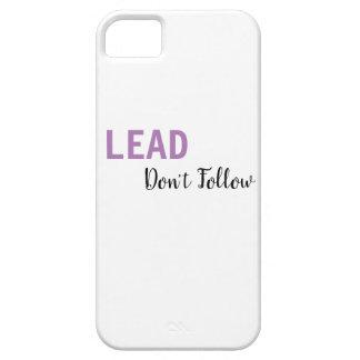 LEAD, Don't Follow Phone Case