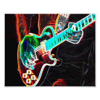Lead Guitarist Photography Print Photo Print