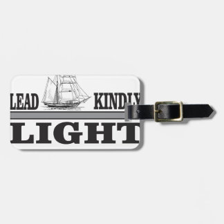lead light gray bag tag