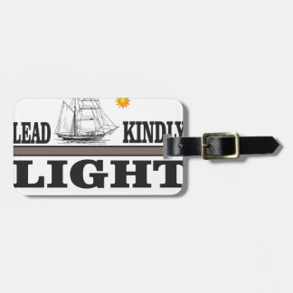 lead light of glory luggage tag