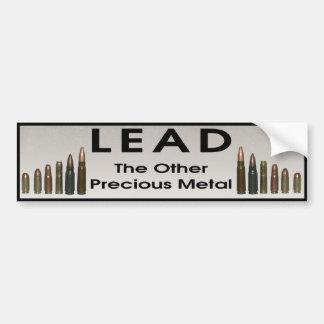 Lead - The Other Precious Metal Bumper Sticker