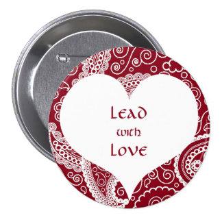 Lead with Love Button
