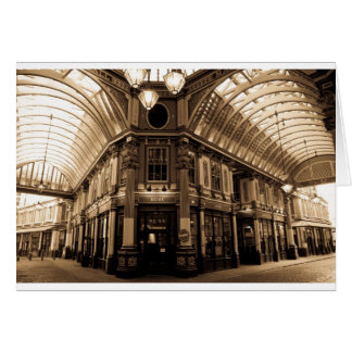 leadenhall market antique look Image Card