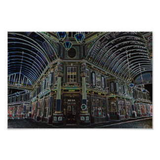 Leadenhall market london Built 1881, this is a dig Photographic Print