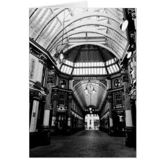 Leadenhall Market London Card