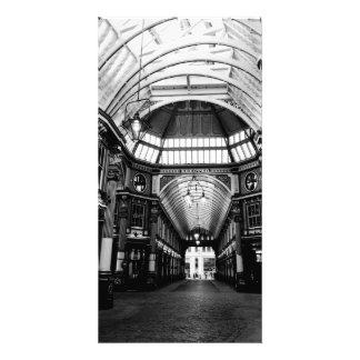Leadenhall Market London Custom Photo Card