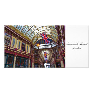 Leadenhall Market London Photo Card Template
