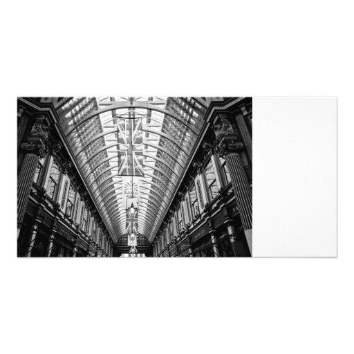 Leadenhall Market London Personalized Photo Card
