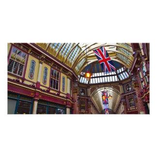 Leadenhall Market London Personalised Photo Card