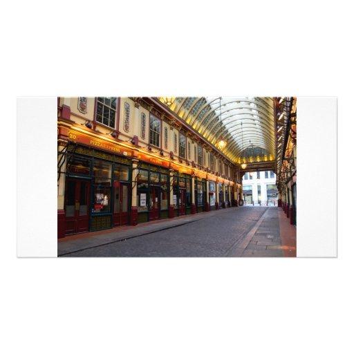 Leadenhall Market London Customised Photo Card