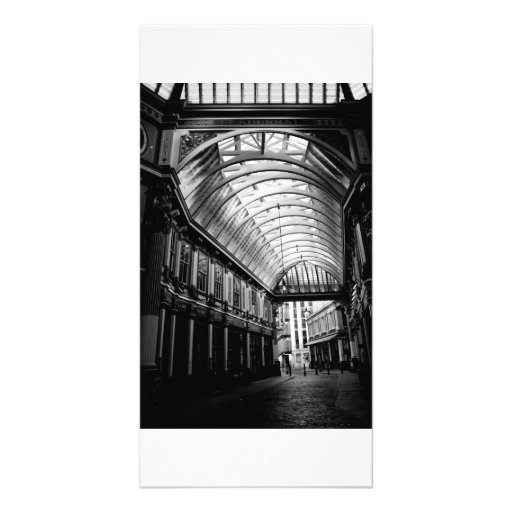 Leadenhall Market London Picture Card