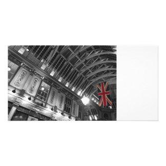Leadenhall Market London Photo Card