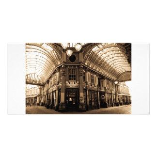 Leadenhall Market London Picture Card