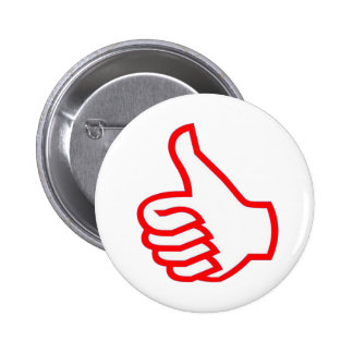 Leader  MOTIVATIONAL Tools :  THUMBSUP 2 Inch Round Button